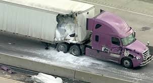 100 Truck Toys Arlington Tx 18Wheeler Accident Shuts Down Westbound I30 In Rockwall CBS