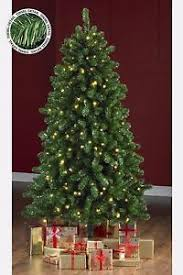 7 Ft White Pre Lit Christmas Tree by Green Gold Tinsel Pre Lit Christmas Tree Warm White Led Lights 5 6