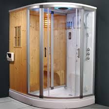 ce01 hydromassageduschkabine 168x95cm mit dfbad farbtherapie und finnischer sauna