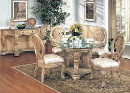 Dining Room Chairs For Glass Table by Antique White Dining Set And Fantastic Marku Home Design