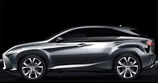 Awesome Toyota C HR 2017 2016 Lexus RX Sketch 1 Check more at