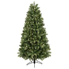 Colored Bulbs For Ceramic Christmas Tree by Shop Artificial Christmas Trees At Lowes Com