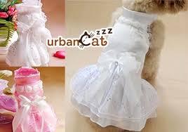 cat wedding dress cat bridal wedding gown pet dress pet cloth pet wedding dress