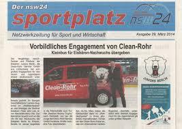 Berliner Kã Che Clean Rohr Aktuelles
