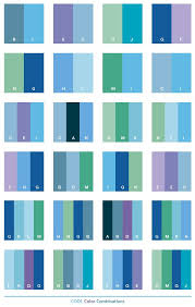 Cool Color Schemes Combinations Palettes For Print CMYK And Web RGB HTML