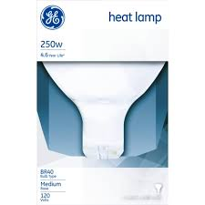 g e 250 watts warmup infrared heat l specialty light bulbs