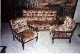 canap rustique salon rustique bois et tissus idées décoration intérieure