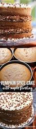 Pumpkin Whoopie Pies With Maple Spice Filling by Check Out Pumpkin Spice Cake With Maple Frosting It U0027s So Easy To