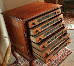 buttonartmuseum com antique oak j p coats 6 drawer spool