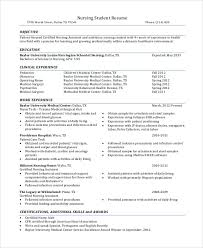 Nursing Student Resume Clinical Experience Romeo Landinez Co Rh Sample Current