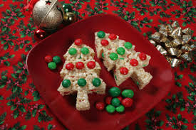 Rice Krispie Christmas Tree Pops by Tree Treats Trimmed With M U0026m U0027s Rice Krispies