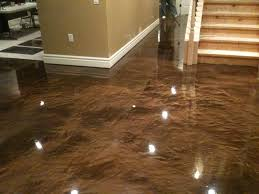 Floor Charming Design Ideas With Epoxy Basement Dogfederationofnewyorkorg