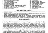 Resume Configuration Management Throughout 18 Manager Change Sample