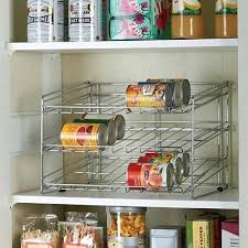 Pantry Can Organizer Pantry Can Storage Systems Kitchen Storage