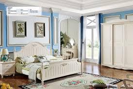 landhaus stil schlafzimmer komplett set holz bett schrank nachttisch 7tlg 6857