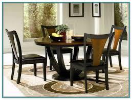 vergara black dining room table