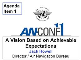 bureau air a vision based on achievable expectations howell director air
