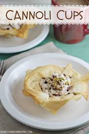 easy cannoli cups dessert recipe home cooking memories