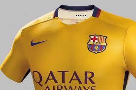 les maillots du fc barcelone 2015 2016