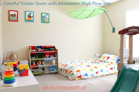 Bright and Colorful Toddler Nursery