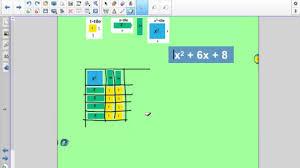 algebra tiles factoring unit 12 p 9 11 factoring quadratic equations using algebra