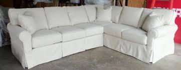 slipcovered sectional sofas centerfieldbar com