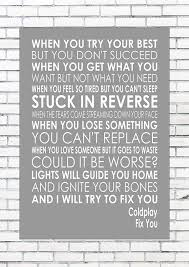 FIX YOU - COLDPLAY - Word Typography - Lyrics Lyric Song Words Print ... Arctic Monkeys Four Out Of Five Lyrics Genius Nct Fchant 127 Is Finally Here With Fire Truck Nowkpop Trucks For Children Kids Responding Cstruction Titu Songs Song Children With Video Country Musichearts On Fireenmmylou Harris Gram Parsons Barney Comes The Firetruck Song Lyrics Youtube Blink 182 I Miss You A3 Artwork Lyric Wall Art Kids Hurry Drive The Ed Sheeran Perfect Funky Print A4 Size Amazoncouk Old Boots New Dirt