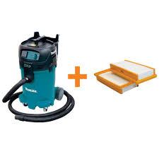 Makita 12 Gal Xtract Wet Dry Vacuum with Free HEPA Filter Set