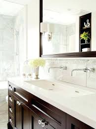 Trough Bathroom Sink With Two Faucets Canada by Enjoyable Trough Sink Bathroom Double Trough Bathroom Sink With