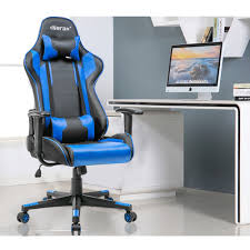 Mainstays Desk Chair Blue mainstays fabric task swivel chair on casters office desk armless