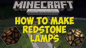 Flashing Redstone Lamp Minecraft by Minecraft Xbox 360 How To Make Redstone Lamps Tu12 Feature
