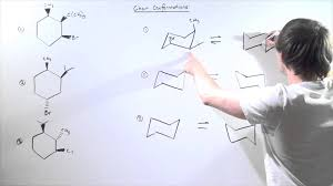 Chair Conformations Of Menthol by Chair Conformations Examples Youtube