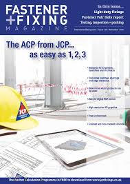 Acp Drop Ceiling Estimator by Fastener Fixing Magazine 100 By Mack Brooks Speciality