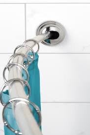 Floor To Ceiling Tension Pole Plant Hangers by How To Install Curved Shower Rods Overstock Com