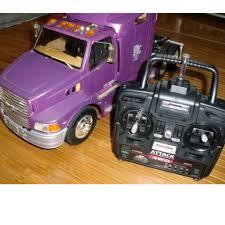 100 Tamiya Rc Trucks RC Truck Vintage Ford Aeromax Semi Truck Toys Games
