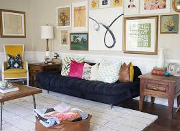 Rustic Mid Century Living Room Makeover