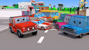 100 Toddler Fire Truck Videos Cartoon For Kids The Car Rescue 3D Cartoon For Toddlers