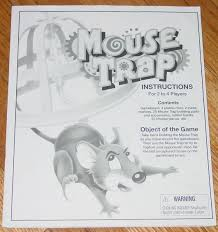 Mouse Trap Souriciere Mousetrap Game 1999 And 50 Similar Items