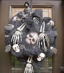 Grandin Road Halloween Wreath by 178 Best Halloween Wreath U0026 Arrangement Images On Pinterest