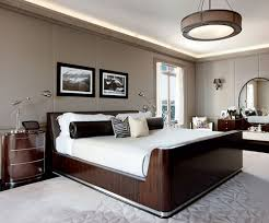 Interesting Mens Bedroom Ideas Brown Pictures