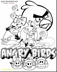 Free Printable Angry Birds Coloring Pages Beautiful