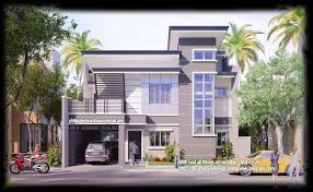 Modern House Design Philippines Two Storey Modern Contemporary ... House Design Front View Philippines Youtube Awesome Modern Home Ideas Decorating Night Front View Of Contemporary With Roof Designs India Building Plans Online 48012 Small Opulent Stylish Kevrandoz 7 Marla Pictures Best Amazing In Indian Style Full Image For Coloring Pages Simple Stunning Gallery Images Interior S U Beauteous Elevations