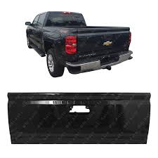 100 Chevy 2014 Truck Amazoncom MBI AUTO Painted 8555 Black Steel Tailgate Shell For