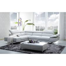 Wayfair Modern Sectional Sofa by Furniture Beige Leather Couch Best Quality Couches Modern