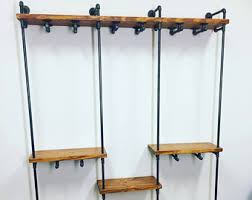 Retail Clothing Display With Shelves Industrial