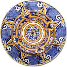 7102 portuguese plate tiles antique majolica designs xv
