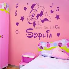 Minnie Mouse Bedroom Decorations by Minnie Mouse Wall Decor Roselawnlutheran