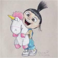 Despicable Me Agnes Fluffy Unicorn