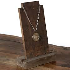 Incredible Ideas Wood Necklace Display Best 20 On Pinterest Diy Holder