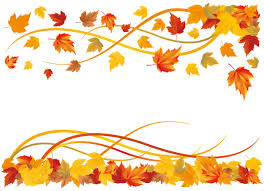 Fall Leaves Border Clipart library